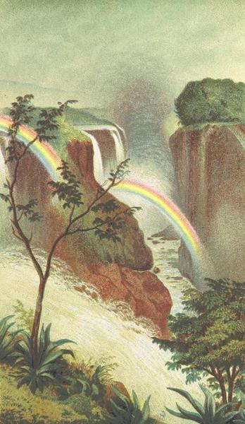 Matabele Land and the Victoria Falls - Victoria Falls, Zambesi (Western Extremity) (1881)