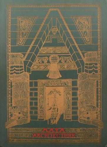 Aquatint & Lithography - Maya Architecture
