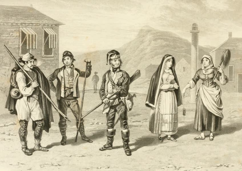 Memoir Descriptive of the Resources, Inhabitants, and Hydrography, of Sicily - Costume of Sicilian Peasantry (1824)
