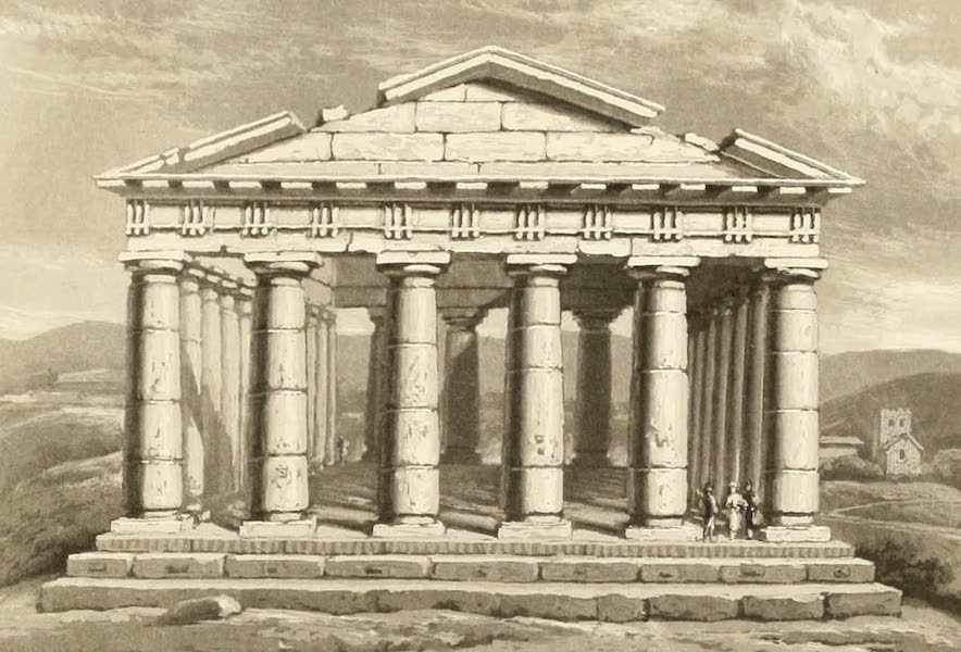 Memoir Descriptive of the Resources, Inhabitants, and Hydrography, of Sicily - The Temple of Segesta (1824)