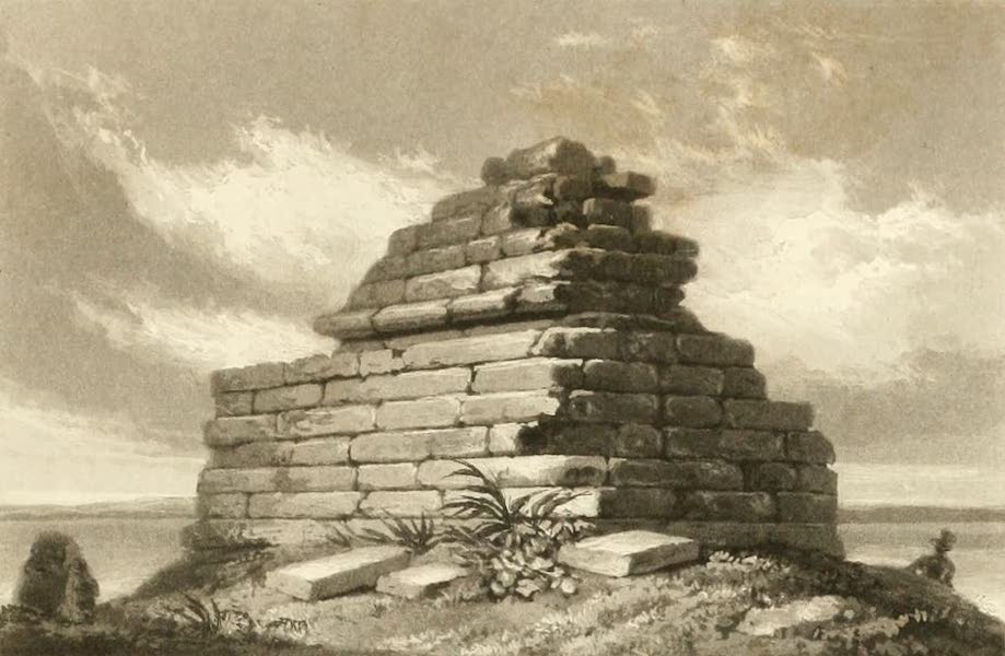 Memoir Descriptive of the Resources, Inhabitants, and Hydrography, of Sicily - The Remains of the Monument of Marcellus (1824)