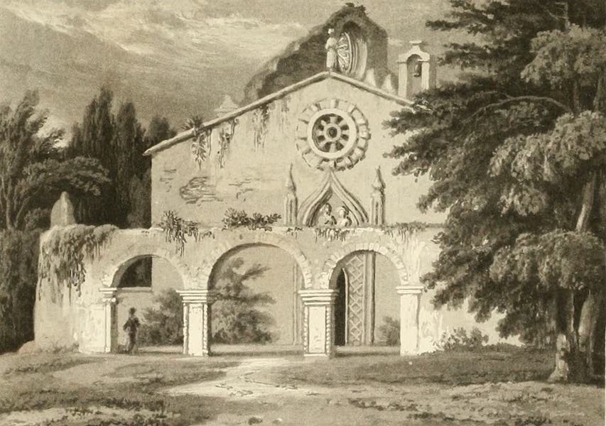 Memoir Descriptive of the Resources, Inhabitants, and Hydrography, of Sicily - St. John's Chapel ver the Catacombs of Syracuse (1824)
