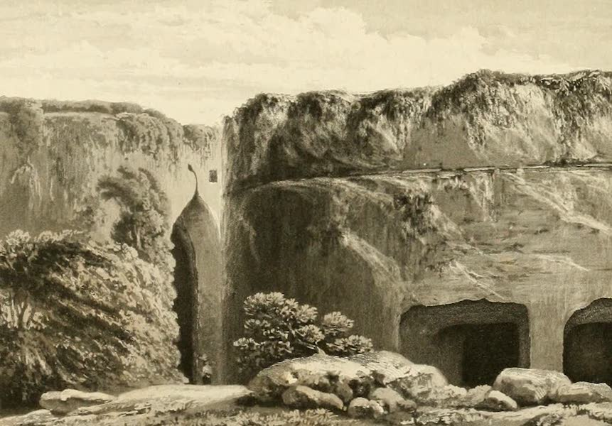 Memoir Descriptive of the Resources, Inhabitants, and Hydrography, of Sicily - View of the Ear of Dionysius (1824)