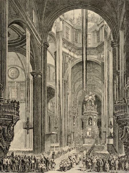 Mexico To-Day - Interior of the Cathedral (1883)