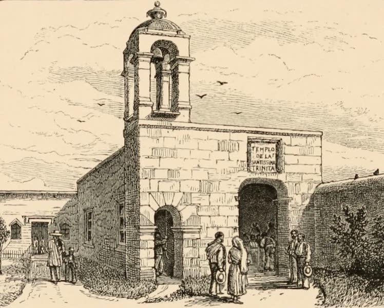 Mexico To-Day - Ariatas Methodist Chapel at San Vicente, Chicolopam (1883)