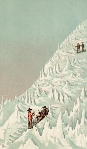 Mexico To-Day - Ascent of Popocatapetl (1883)
