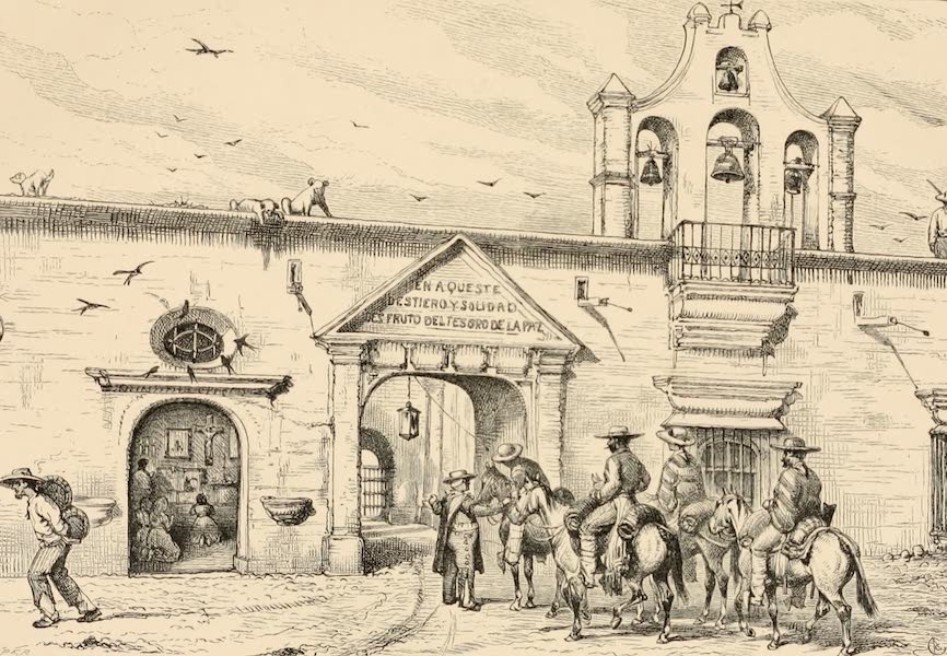 Mexico To-Day - Hacienda of Tepenacasco (1883)