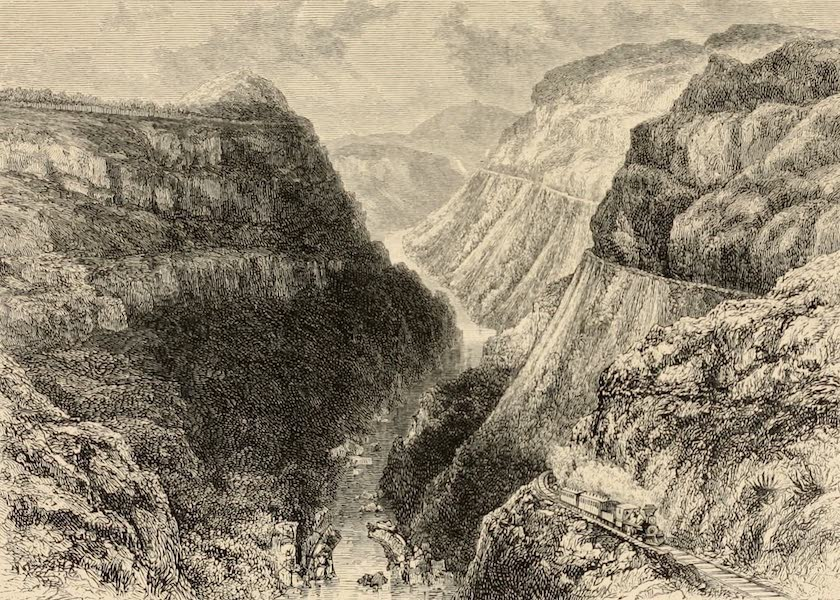 Mexico To-Day - The Dyke of Nochistongo (1883)