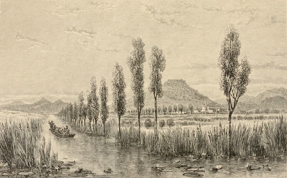 Mexico To-Day - Hill of Estrella (1883)