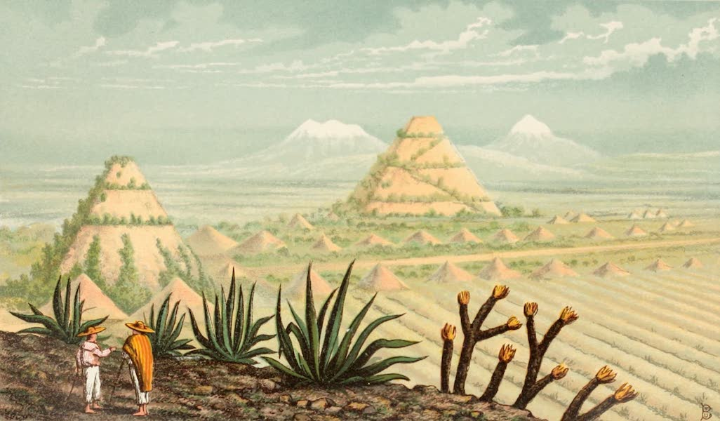 Mexico To-Day - Pyramids at Teotihuacan (1883)