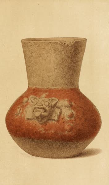Mexico To-Day - Aztec Jar from Teotihuacan (10 inches high) (1883)