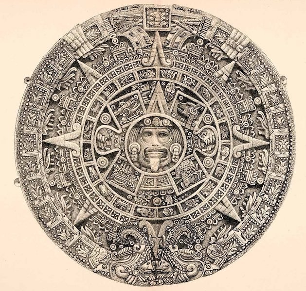 Mexico To-Day - The Aztec Calendar Stone (1883)