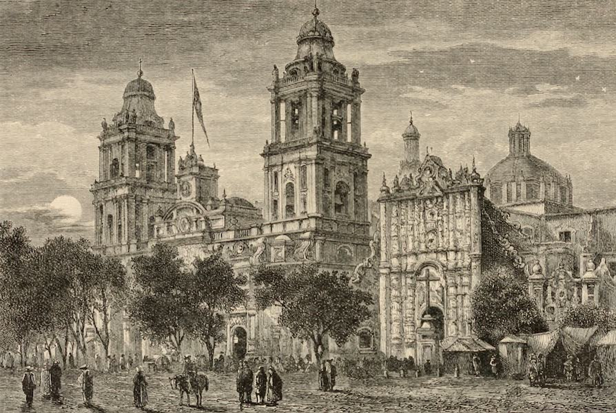 Mexico To-Day - Cathedral by Moonlight (1883)