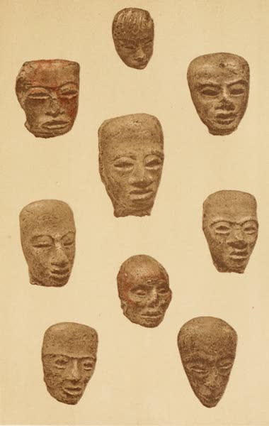 Mexico To-Day - Clay heads found in great quantities on the sites of ancient Aztec cities (I) (1883)