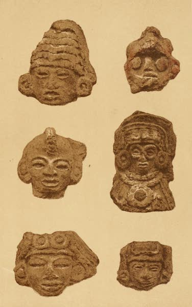Mexico To-Day - Clay heads found in great quantities on the sites of ancient Aztec cities (II) (1883)
