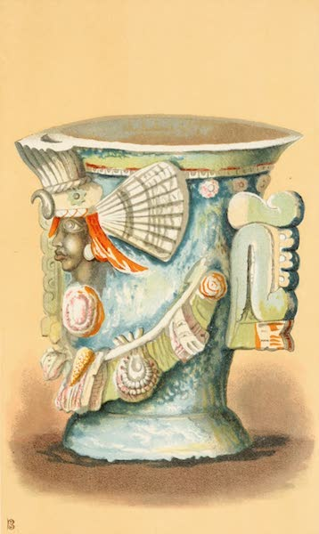 Mexico To-Day - Vase of Centeotl or Ceres (1883)