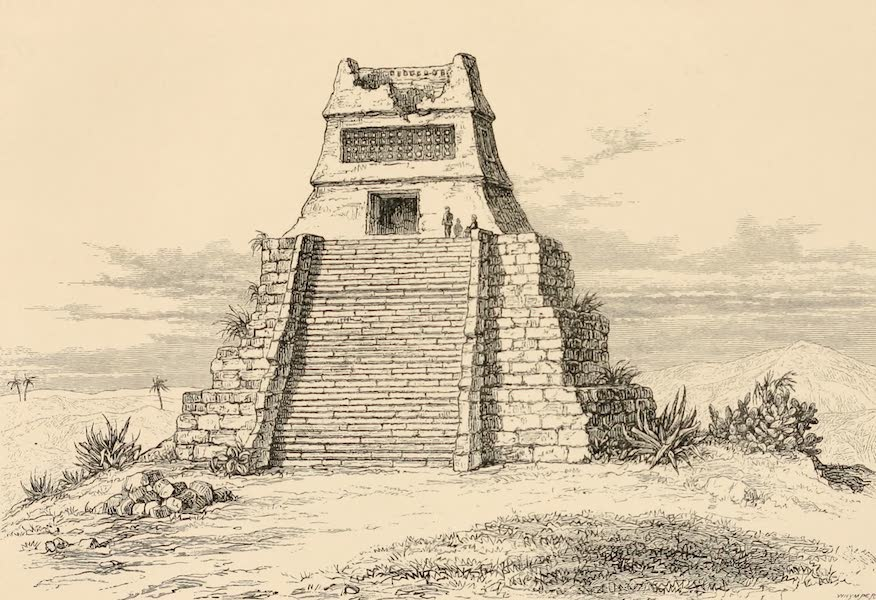 Mexico To-Day - Teocalle or Aztec Temple (1883)