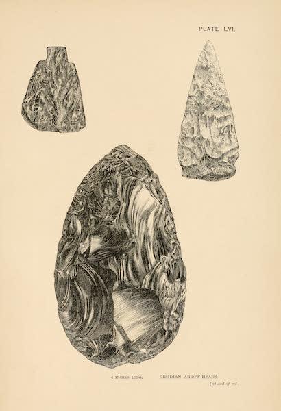 Mexico To-Day - Obsidian Arrow Heads (1883)