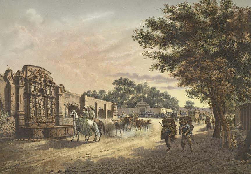 Mexico y sus Alrededories - La Fuente de la Tlaxpana (1869)