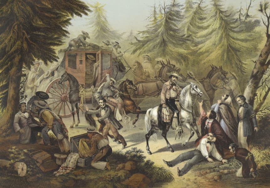 Mexico y sus Alrededories - Ataque de Una Diligencia (1869)