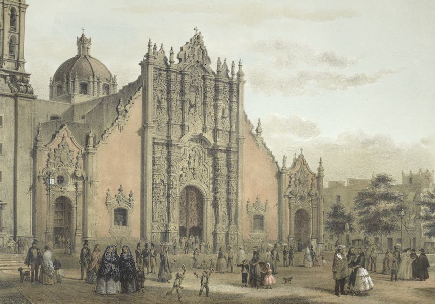 Mexico y sus Alrededories - El Sagrario de Mexico (1869)
