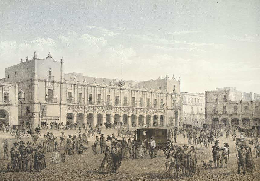 Mexico y sus Alrededories - Casa Municipal o Disputacion (1869)
