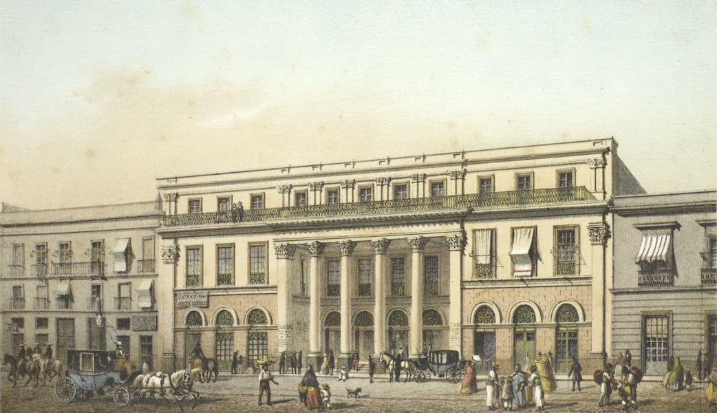 Mexico y sus Alrededories - Interior de la Alameda de Mexico (II) (1869)