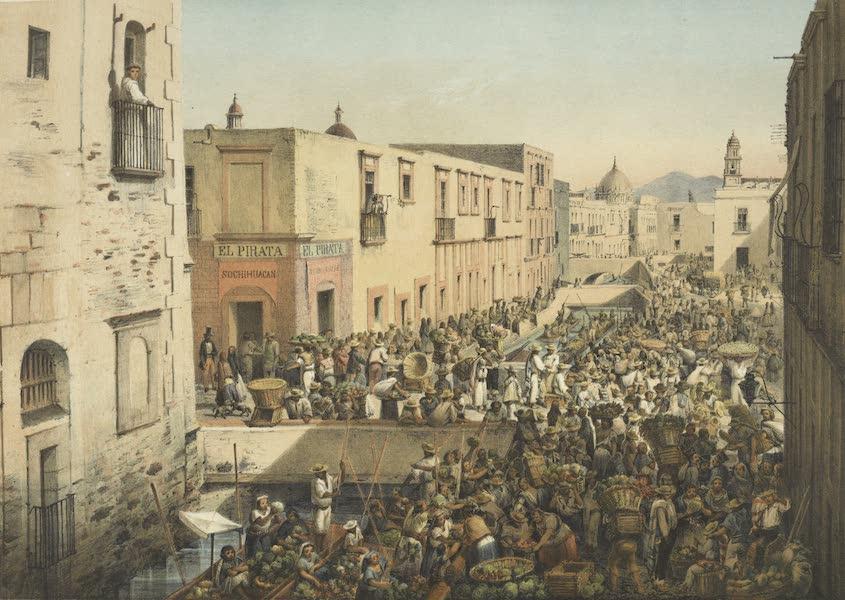 Mexico y sus Alrededories - La Calle de Roldan y su Desembarcadero (1869)