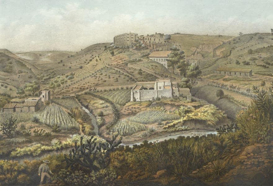 Mexico y sus Alrededories - Molino de Belen Lomas de Santa Fe Tacubaya (1869)