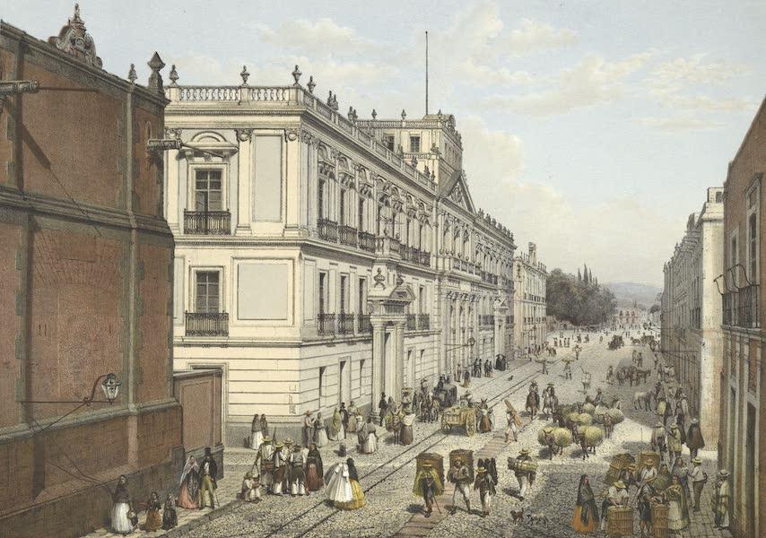 Mexico y sus Alrededories - Colegio de Mineria (1869)