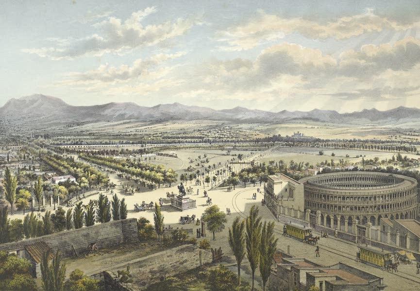 Mexico y sus Alrededories - Paseo de Bucareli (1869)