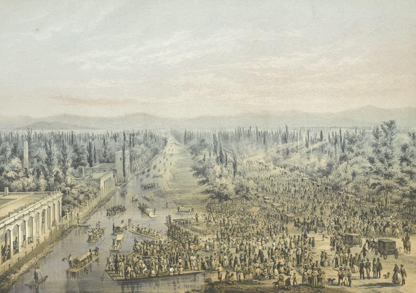 Mexico y sus Alrededories - El Paseo de la Viga (1869)