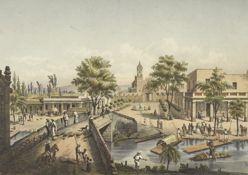 Mexico y sus Alrededories - El Pueblo de Ixtacalco 1869 (1869)