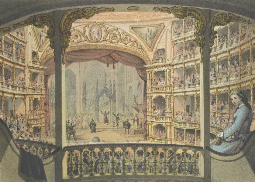Mexico y sus Alrededories - Atrio del Convento de San Francisco 1860 (II) (1869)