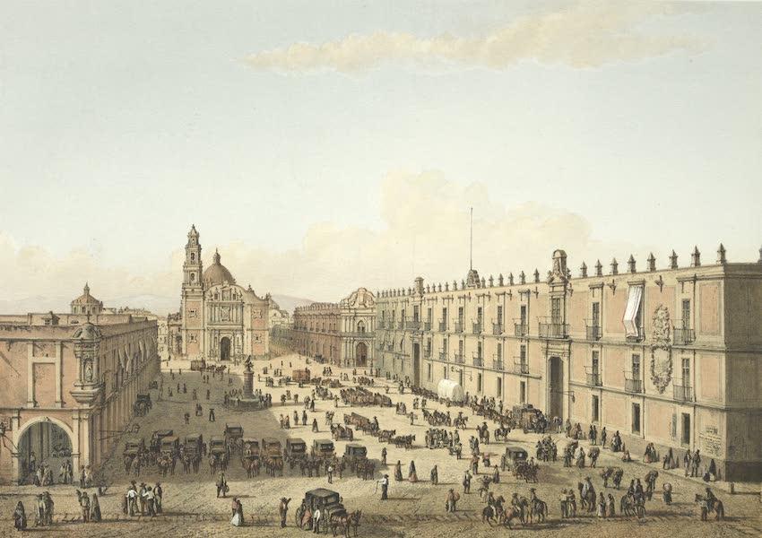 Mexico y sus Alrededories - Plaza de Santo Domingo (1869)