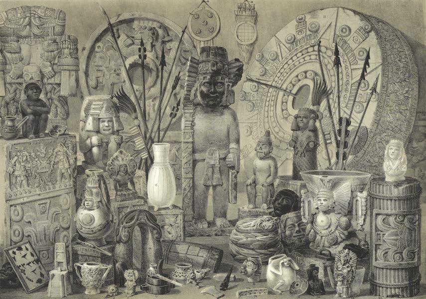 Mexico y sus Alrededories - Antiguedades Mexicanas que existen en el Museo Nacional de Mexico 1857 (1869)