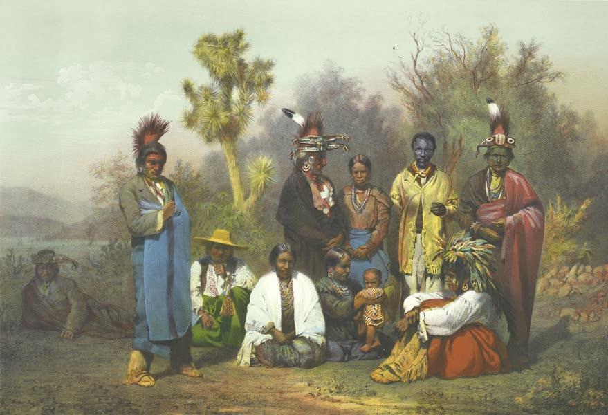Mexico y sus Alrededories - Indios Kikapoos presentados a Sm. Maximiliano 1865 (1869)