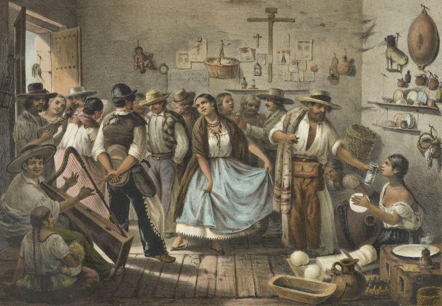 Mexico y sus Alrededories - Trajes Mexicanos un Fandango (1869)