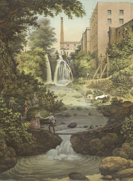 Mexico y sus Alrededories - Cascada de Tizapan Sn. Angel (1869)