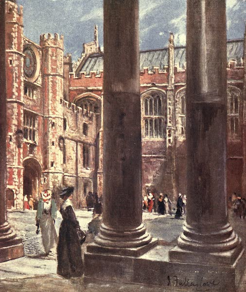 Middlesex Painted and Described - Clock Court, Hampton Court Palace (1907)