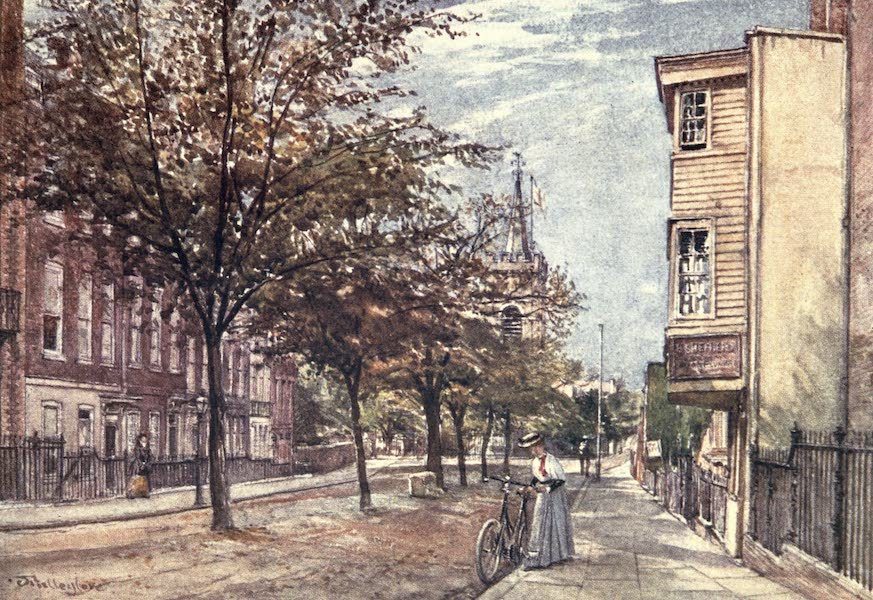 Middlesex Painted and Described - Church Row, Hampstead (1907)