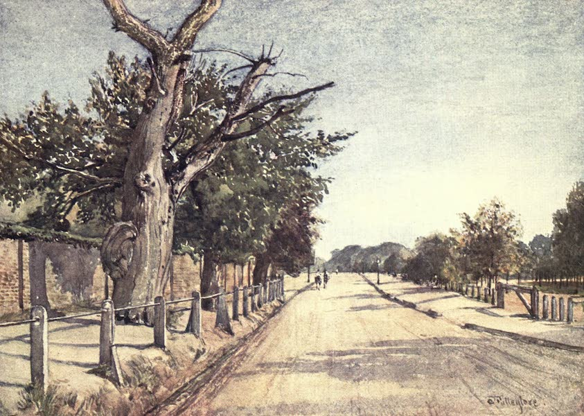 Middlesex Painted and Described - The Spaniards Road, Hampstead (1907)