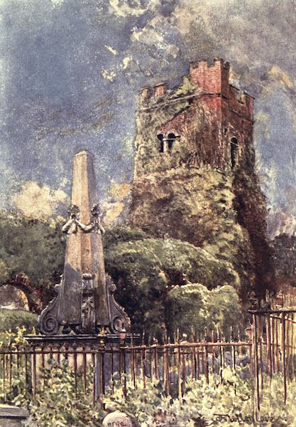 Middlesex Painted and Described - Ruined Church at Stanmore (1907)