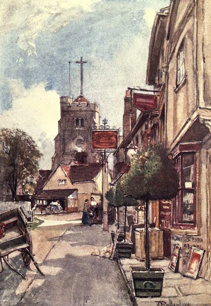 Middlesex Painted and Described - Pinner (1907)