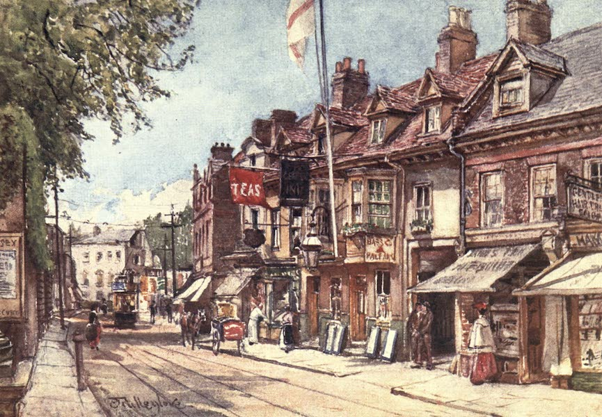 Middlesex Painted and Described - High Street, Twickenham (1907)