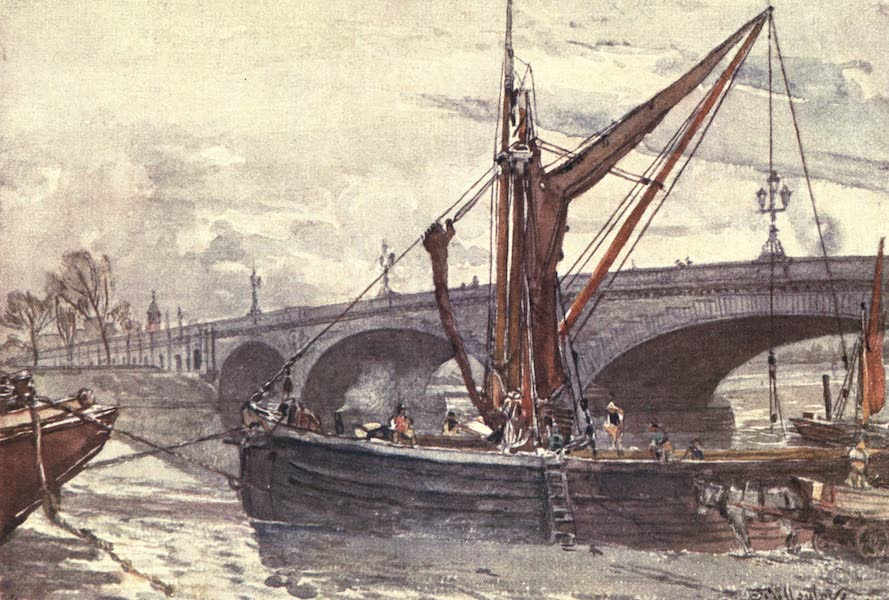 Middlesex Painted and Described - Kew Bridge from Brentford (1907)