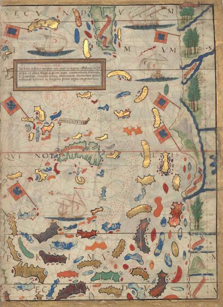Miller Atlas - China Sea with the Moluccas (1519)