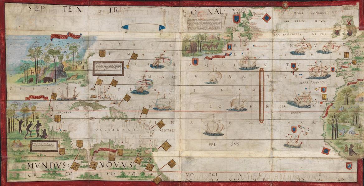 Miller Atlas - North Atlantic Ocean (1519)