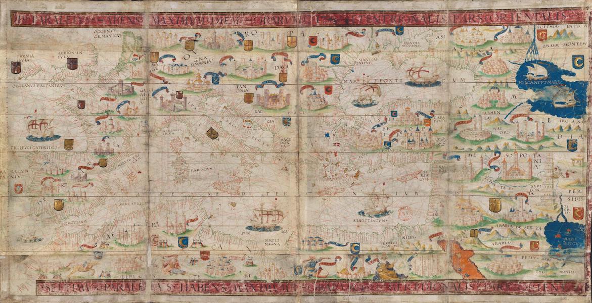 Miller Atlas - The Mediterranean Sea (1519)
