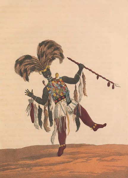 Mission from Cape Coast Castle to Ashantee - Captain in His War Dress (1819)